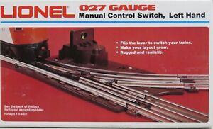 Vintage Lionel Left 6-5021 or Right 6-5022 Manual Control Switch 027 Gauge Train