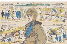 P Guerre 14-18 PUZZLE 10 CARTES HUMOUR AVIATEUR