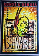 Con becco. Grande manifesto della Mostra originale, stampato 1998, 67x96 cm P10)