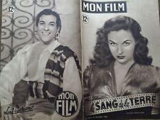 "MON FILM 1949 N 174 "" LE SANG DE LA TERRE "" avec SUSAN HAYWARD et BORIS KARLOFF"