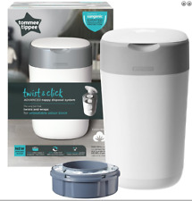 Tommee Tippee Twist and Click Nappy Bin Disposal System