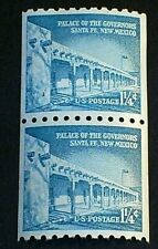 U.S. Scott Stamp # 1054A, Coil Pair (1 1/4c) PALACE OF THE GOVERNORS