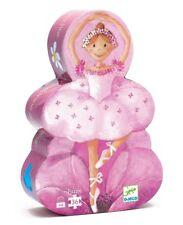 PUZZLE DJECO 36pz La Ballerina dal Fiore -Puzzle per Bambini 4+ Anni- DJ07227