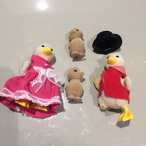 Sylvanian Families Vintage Waddlington Duck Family mayor mayoress SPARES REPAIRS