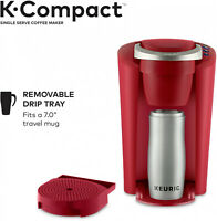 K-Cup Coffee Maker Pod Keurig Compact Single-Serve Slip Brewer Kitchen Red *NEW*