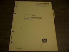11915 John Deere Parts Catalog Elevator Portable regular 300 Pc-739 Dated Jun 67