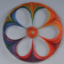 String Art kit Datura Flowers Art Home Decor Craft kits for Beginner