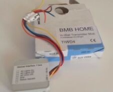 Home Automation In Wall Transmitter Module BMB Home TIWD4 micromodule 4 way