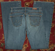 AG Adriano Goldschmied Jeans size 29R The Legend Flare actual 31 x 33 Blue
