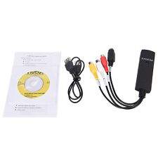 EasyCap USB 2.0 cable audio video VHS a DVD Convertidor HDD capturar  tarjetaSC