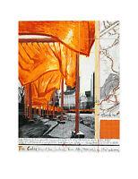 Christo Poster Kunstdruck Bild Offset The Gates XXVI 50x60cm