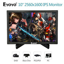 """EYOYO 10"""" IPS Monitor 2560X1600 Built-in Speakers 16:9 178 degree For Xbox360 PC"""