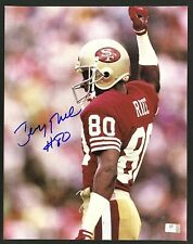 Jerry Rice San Francisco 49ers Signed 11x14 Photo Autographed GA COA