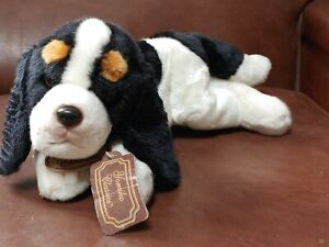 "Russ Yomiko Classics Prince Charles Spaniel Puppy Dog Stuffed Plush 11"""