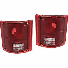 Pair Tail Light for 78-86 Chevrolet K5 Blazer & 87-91 Blazer Left & Right Side