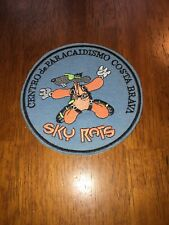 """Skydiving Costa Barva Embroidered Sew On Patch 4"""" Sky Rats"""