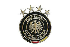 GERMANY 4 STARS WITH LOGO  IRON-ON PATCH CREST BADGE 2 1/2 X 3 INCHES  NEW