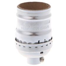 Vintage E26/E27 Aluminum Retro Light Bulb Lamp Holder Socket Base Without Switch