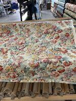 "Kravet Linen Lee Jofa Kingsworothy Floral / Drapery Fabric 54"" Bty"