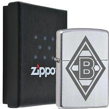 Zippo Borussia Mönchengladbach Chrom Satin