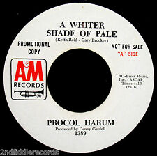PROCUL HARUM-A Whiter Shade Of Pale+Lime Street Blues-A Rare Promo 45-A&M #1389