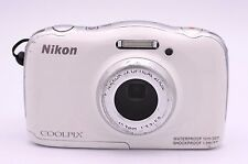 Nikon COOLPIX S33 13.2 MP Digital Camera - White