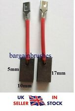 Spazzole in Carbonio Smerigliatrice hilti deg 500-D HG500D 5X10X17 HG-500-D DEG500D COPPIA D28