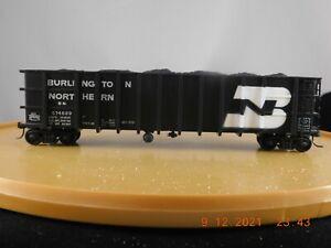 Model Die Casting HO Scale 50' Thrall Gondola Burlington Northern