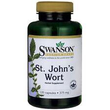 Swanson St Johns Wort 375mg - 120 Cápsulas