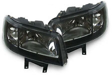 black clear finish headlights front lights for VW Bus Transporter T5