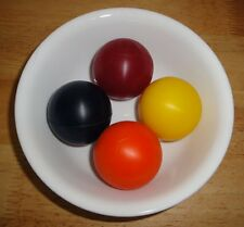 4 Deep Red Gel balls/Stress balls