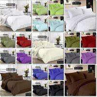 "Hotel Collection Full Size 800-1000-1200TC ""3pc Duvet Cover"" Pillow Set 42-Color"