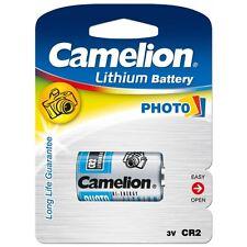 Piles spéciales photos CR2 3V lithium Camélion, expédition rapide et gratuite