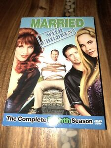3 DVD Set Married With Children TV Show Complete Eighth Season 26 Episodes