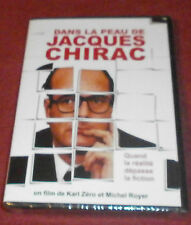 Dans la Peau de Jacques Chirac DVD Region 2, PAL NEW SEALED documentary French