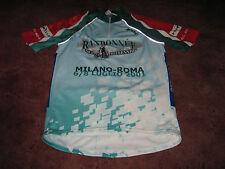 RANDONNEE DEL MILLENNIO MILANO-ROMA 2001 SANTINI Italiano Ciclismo Jersey [L]