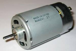 Mabuchi RS-555 PH - 12V - 4500 RPM - High Torque - 5 Pole - Hobby Motor