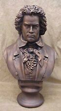 Bust of Beethoven Large Sculpture Music Statue Art 18""