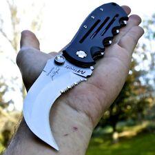 "8"" M-TECH Karambit Claw FOLDING POCKET KNIFE Hawkbill Tactical Combat NEW"