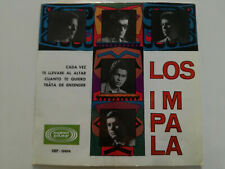 "LOS IMPALA Cada Vez +3 SPAIN ONLY 7"" VINYL 1966 Venezuela Garage Mod  GOLD LABEL"