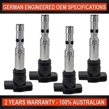 4 x Ignition Coil Skoda Octavia 1.8L Turbo Volkswagen Golf VW Passat Polo 1.8L T