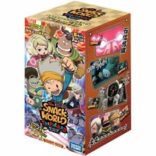 Snack World Trepa card Extension Pack 1st DSP-BOX Takara Tomy New From Japan F/S