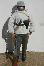 1/6 scale  WWII German SS HIGHLY DETAILED solider, Metal helmet, MKB MP44 Winter