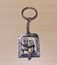 Sexy Lover Metal Key Ring Chain - Funny For Him or Her (Type 1)