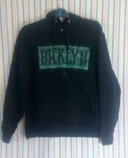 Mens Hoodie Cedarwood State Black Graphic Size Large Premium Casual
