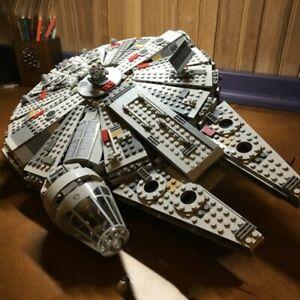 1381 pcs Star Wars Millennium Falcon Spacecraft Building Blocks Kid Gift Toy New