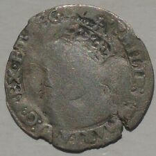 More details for 1554-58 philip & mary silver groat hammered tudor coin, mint mark lis 23mm 1.60g