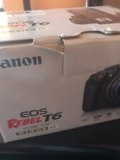 Canon EOS Rebel T6  dslr camera 18-55mm lens kit