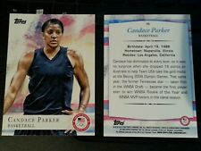 2012 Topps Olympics base card #46 Candace Parker, women's basketball