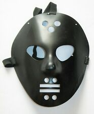 Jason Voorhees Friday the 13th MASK Black Color Halloween Hockey Mask